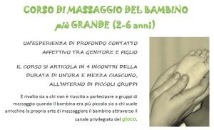 Massaggio bambino più grande 2014